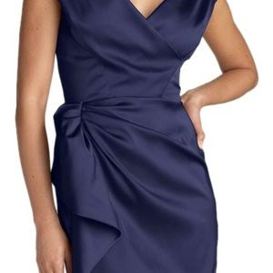 Maggy London Navy Cocktail Dress